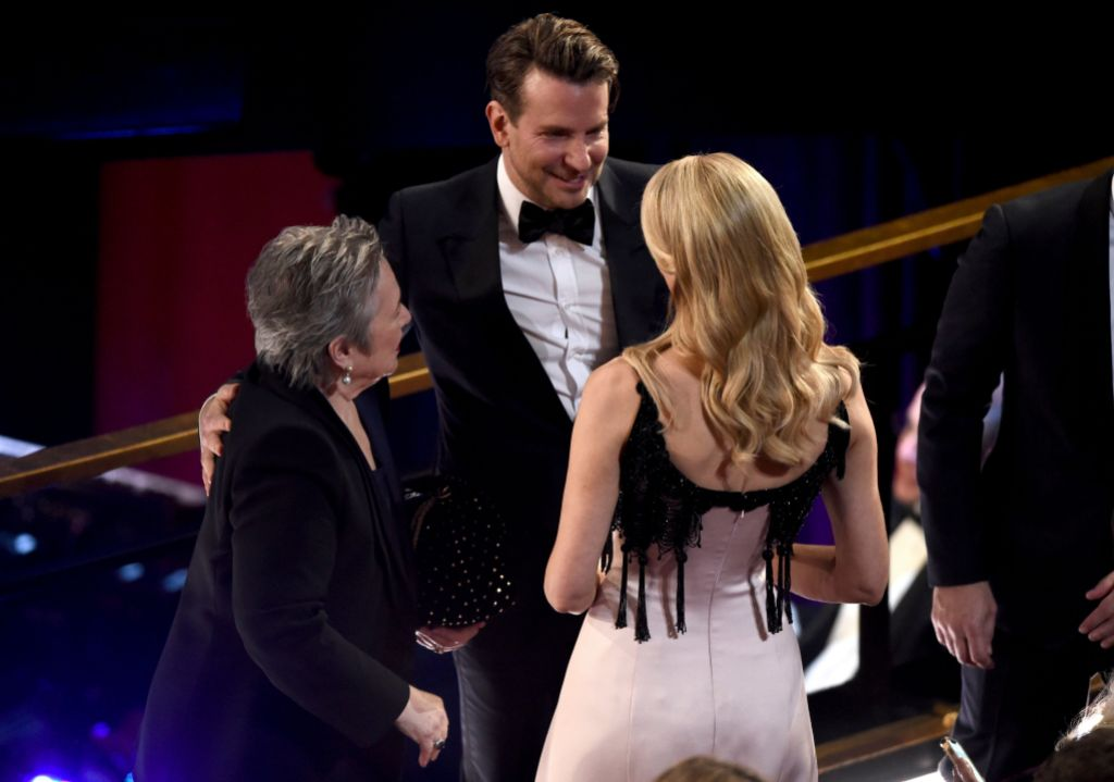 Bradley Cooper With Laura Dern and Kathy Bates