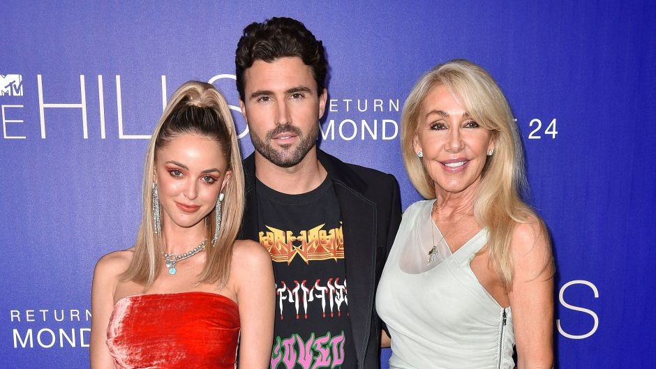 Brody Jenner With Kaitlynn Carter and Linda Thompson on Red Carpet