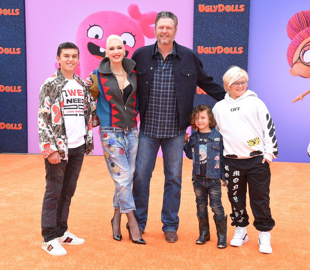 Gwen Stefani's Kids Are 'Well-Adjusted' To Relationship