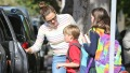 Jennifer-Garner-Looks-Casual-in-Sweater-and-Jeans-While-Out-With-Her-Kids-4