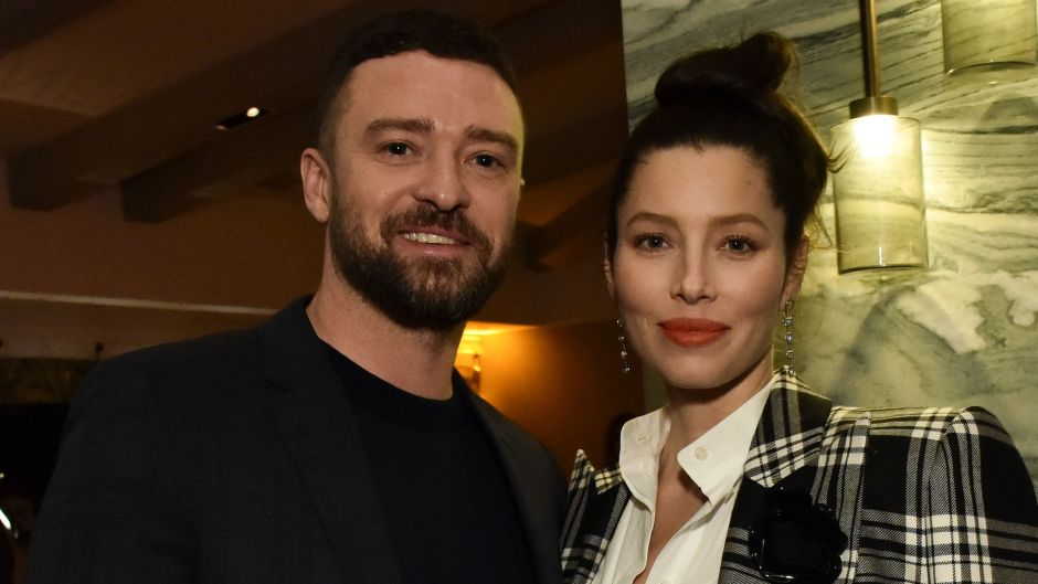 Justin Timberlake With Wife Jessica Biel at Afterparty