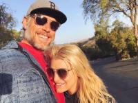Jessica Simpson Wearing Sunglasses With Eric Johnson
