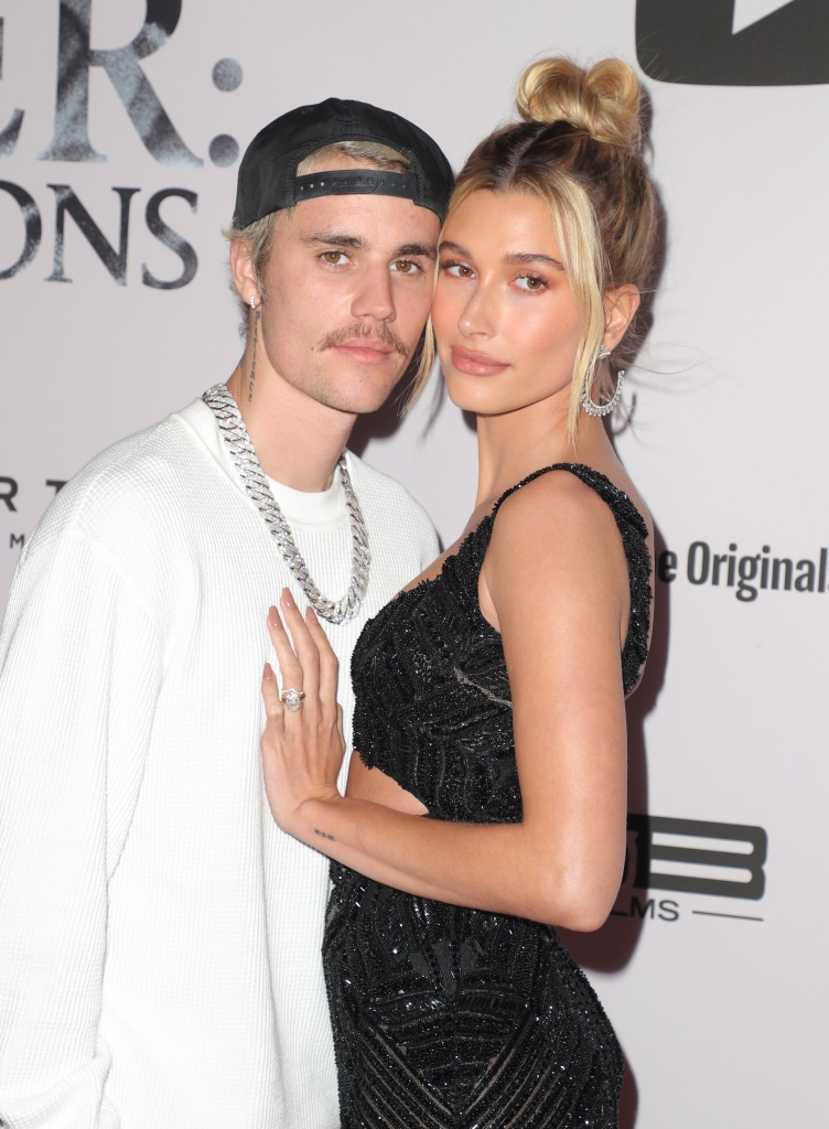 Justin Bieber Hugging His Wife Hailey Baldwin