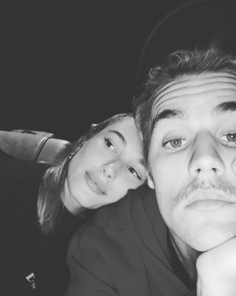 Justin Bieber With His Wife Hailey Baldwin
