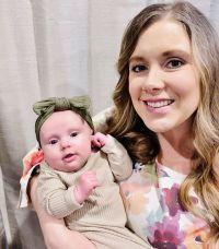 Mom Anna Duggar Holds Infant Daughter Maryella