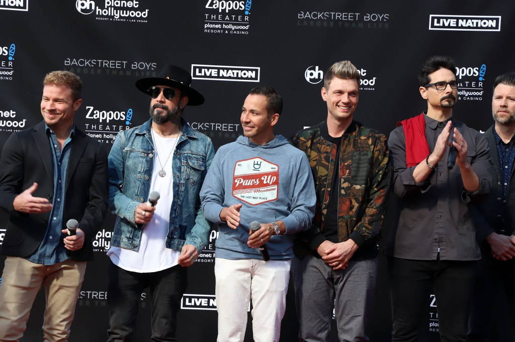 Backstreet Boys at an Event
