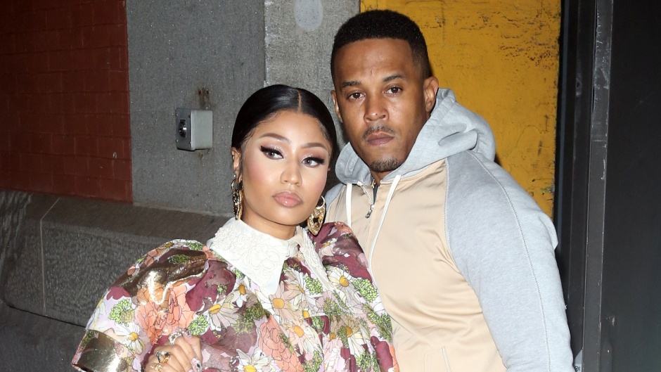 Nicki Minaj With Her Husband Kenneth Petty at NYFW