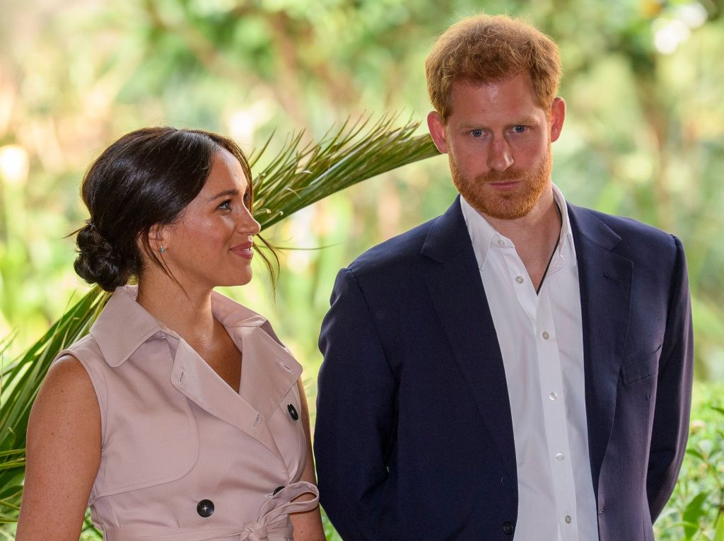 Prince Harry Wearing a Suit With Meghan Markle