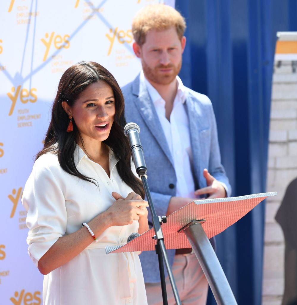 Prince Harry Thinks Royal Family Didn't 'Protect' Meghan Markle: 'They Didn't Welcome Her' inline