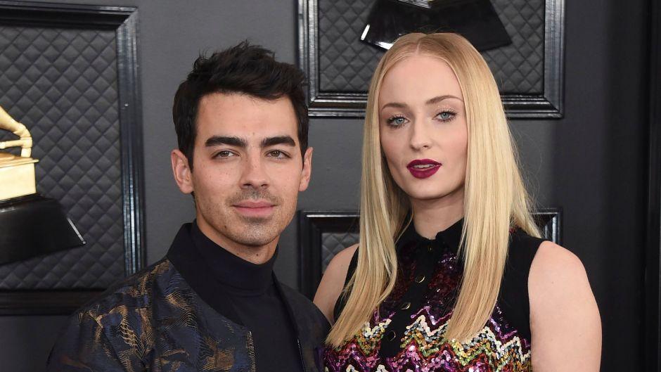 Sophie Turner and Joe Jonas at 2020 Grammys
