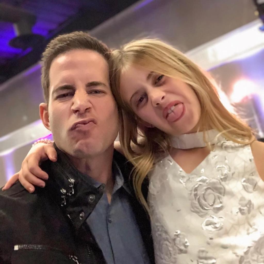 Tarek El Moussa With His Daughter Taylor