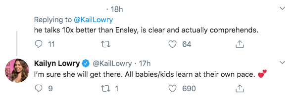 'Teen Mom 2' Star Kailyn Lowry Defends Jenelle Evans' Daughter Ensley- 'She Will Get There' comment