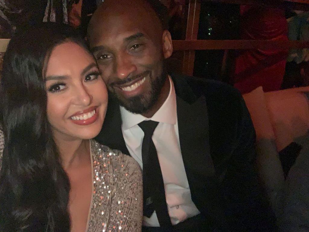 Vanessa Bryant With Her Husband