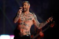 Adam Levine performing at super Bowl, singer gives back to fans