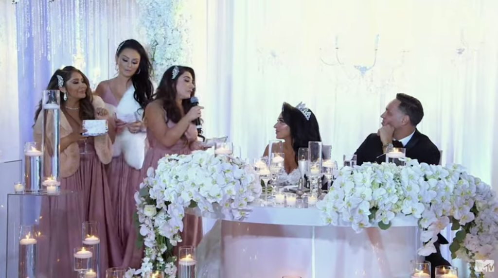 angelina's jersey shore bridesmaids roasted her
