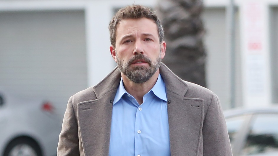 Ben Affleck out and about, Los Angeles, USA - 14 Oct 2019