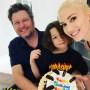 gwen stefani celebrates son apollo's sixth birthday with boyfriend blake shelton