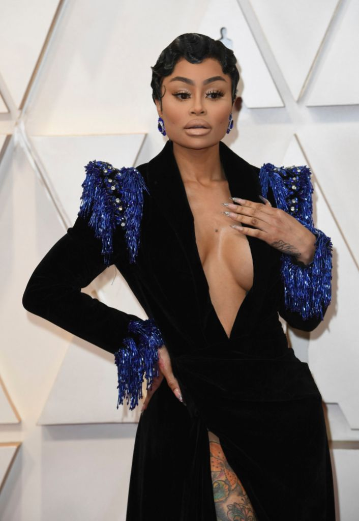 Blac Chyna 92nd Academy Awards - Arrivals, Los Angeles, USA - 09 Feb 2020