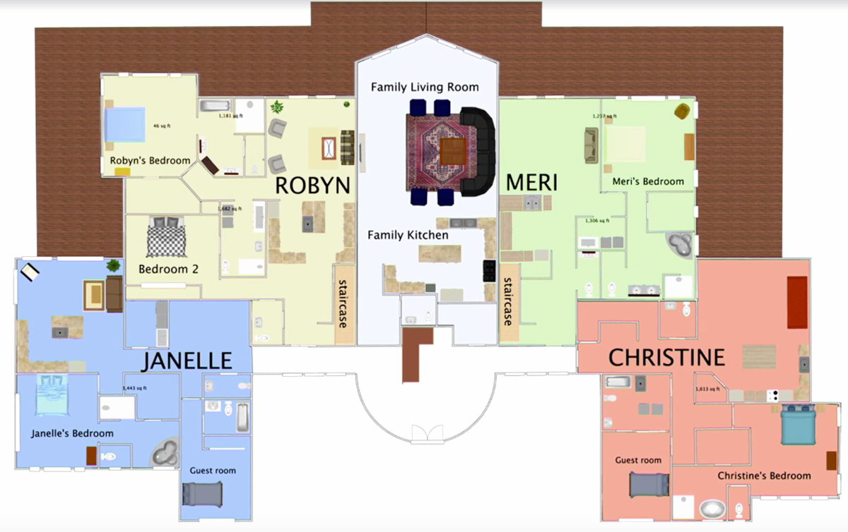 Sister Wives House Plans For The Browns Flagstaff Home