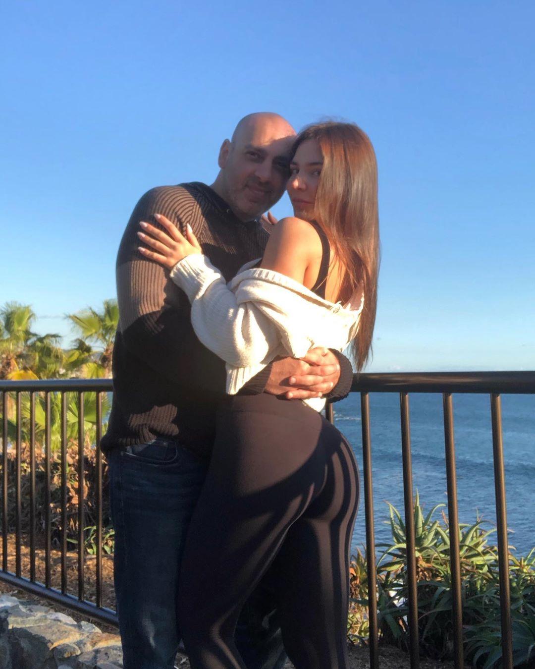 Anfisa Nava Hugging Leo Assaf