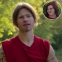 Inset Photo of Raiven Adams Over Photo of Bear Brown from Alaskan Bush People