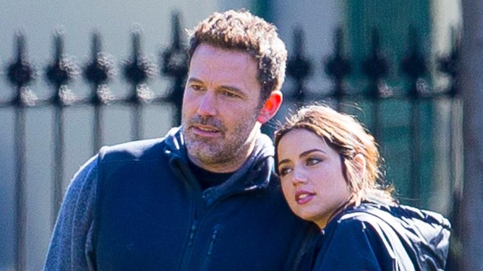 Ben Affleck Ana de Armas Get Cozy on 'Deep Water' Set in November 2019