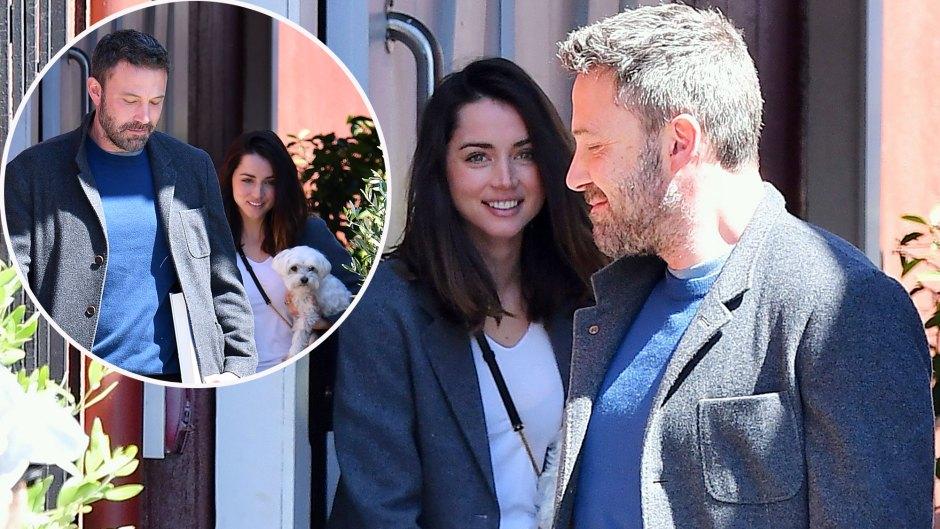 Ben Affleck New Girlfriend Ana De Armas Enjoy Book Shopping Amid Blossoming Romance