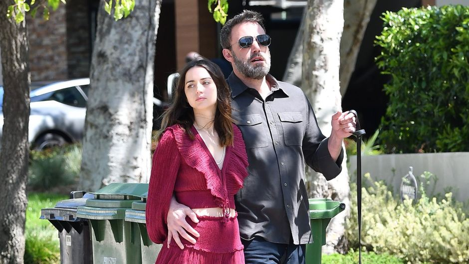 Ben Affleck and Ana De Armas Get Cozy While Walking Dogs — See