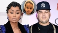 Blac Chyna claims Dream suffered second-degree burn while in Rob's care