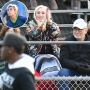 Gwen Stefani and Parents Cheer on Son Kingston at Football Game