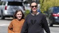 Jennifer Garner and Seraphina Affleck Hold Hands on Walk in Brentwood