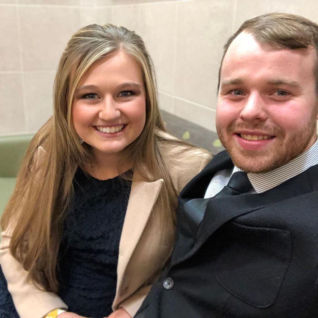 Joseph Duggar and Kendra Caldwell Smiling in Selfie