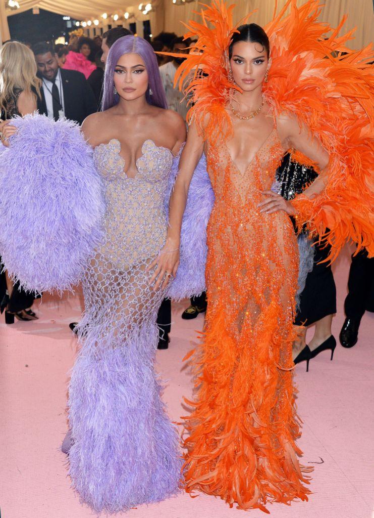 Kendall Jenner Kylie Jenner Met Gala 2019
