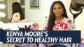 Kenya Moore Healthy Hair