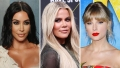 Side-by-Side Photos of Kim Kardashian, Khloe Kardashian, Taylor Swift