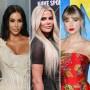 Side-by-Side Photos of Kim Kardashian, Khloe Kardashian, Taylor Swift