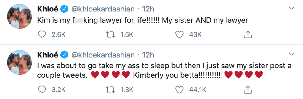 Khloe Kardashian Supports Kim Kardashian Clapping Back at Taylor Swift Over Famous Feud With Kanye West