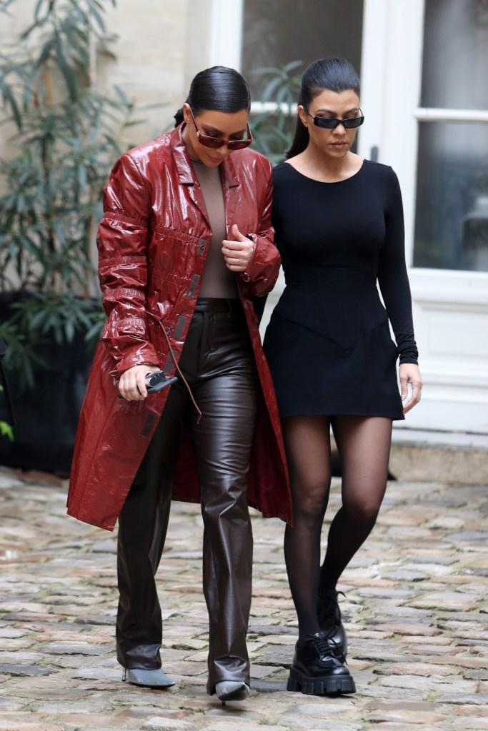 Kim Kardashian Says She Was Bleeding After Fight With Kourtney on Jimmy Fallon