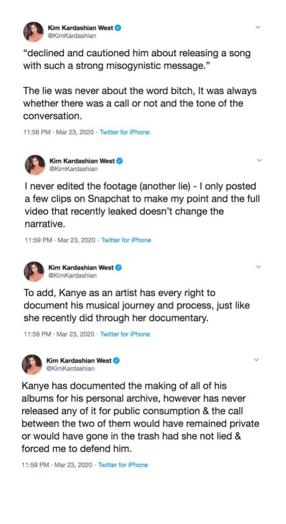 Kim Kardashian Tweets