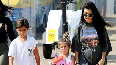 Kourtney Kardashian Bonds With Son Mason After Deleting His Instagram