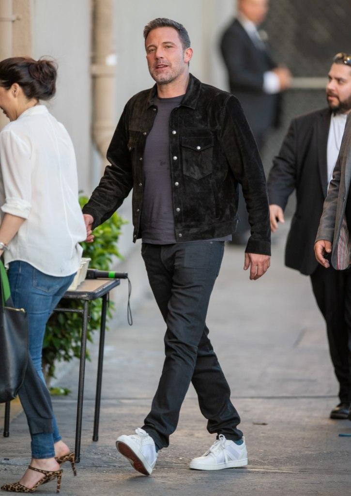 Ben Affleck at 'Kimmel'