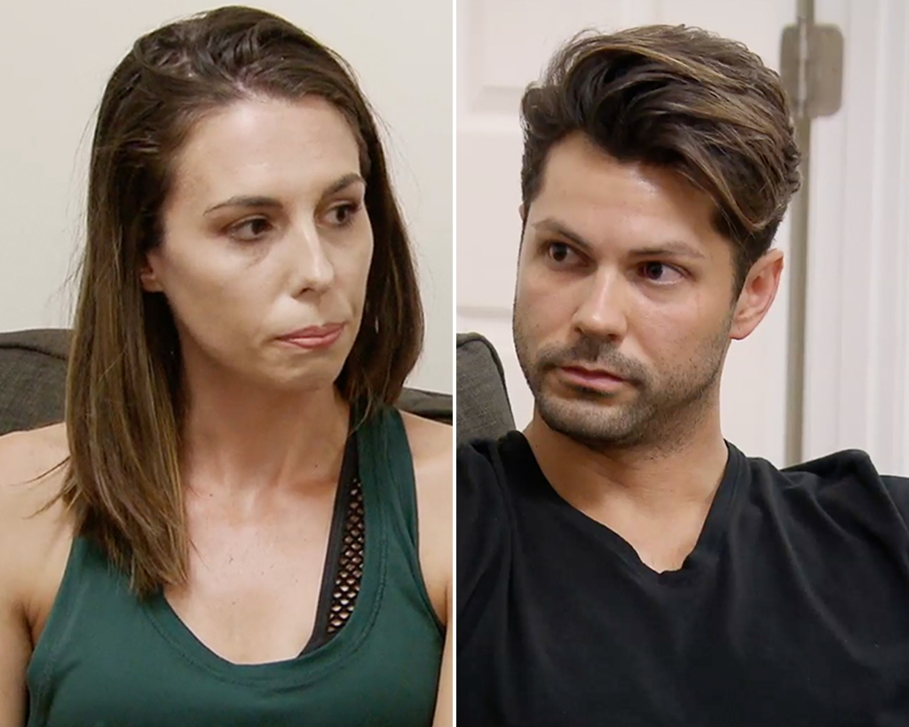 Side-by-Side Photos of Mindy Shiben and Zach Justice on Married at First Sight