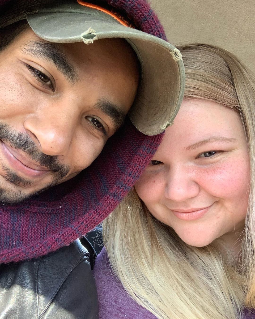 Nicole Nafziger Shares Morocco Selfie With Azan Tefou on March 11