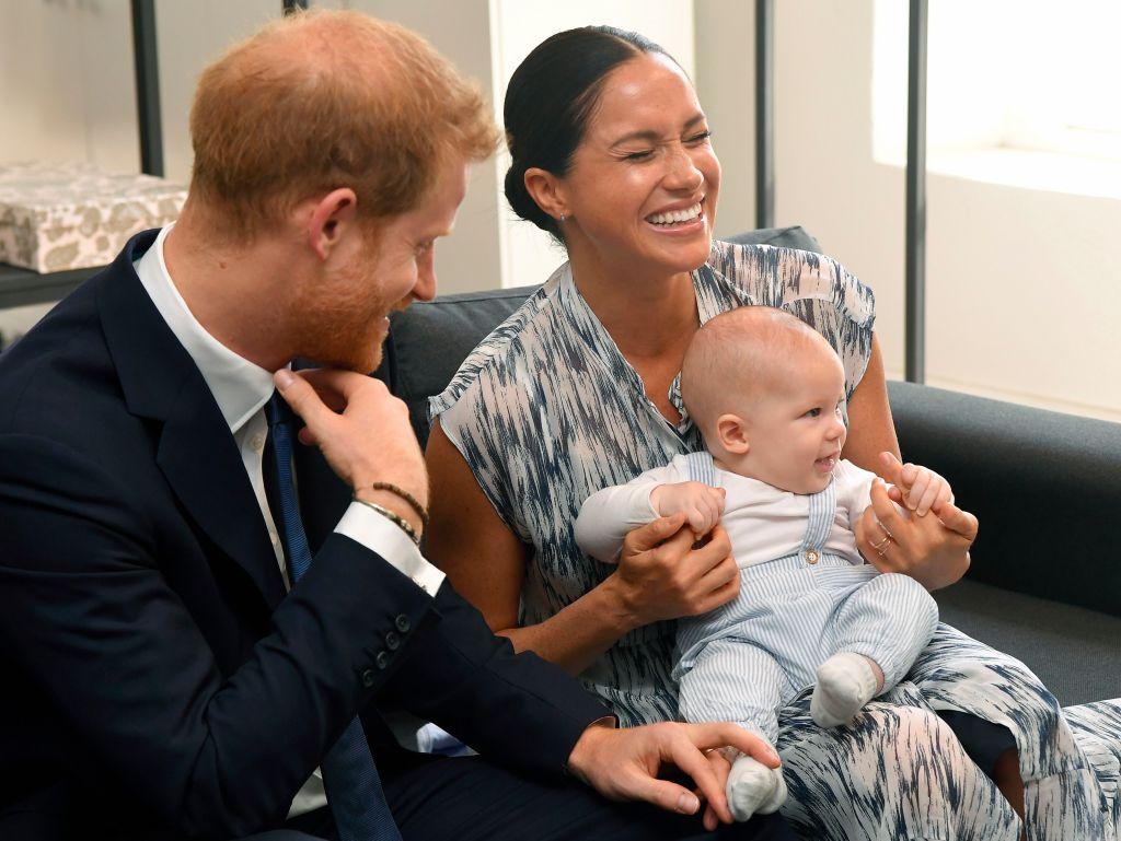 Prince Harry Meghan Markle Archie Family Photo