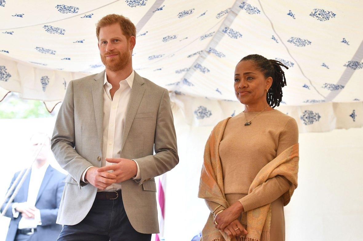 Prince Harry and Doria Ragland Coronavirus Concerns