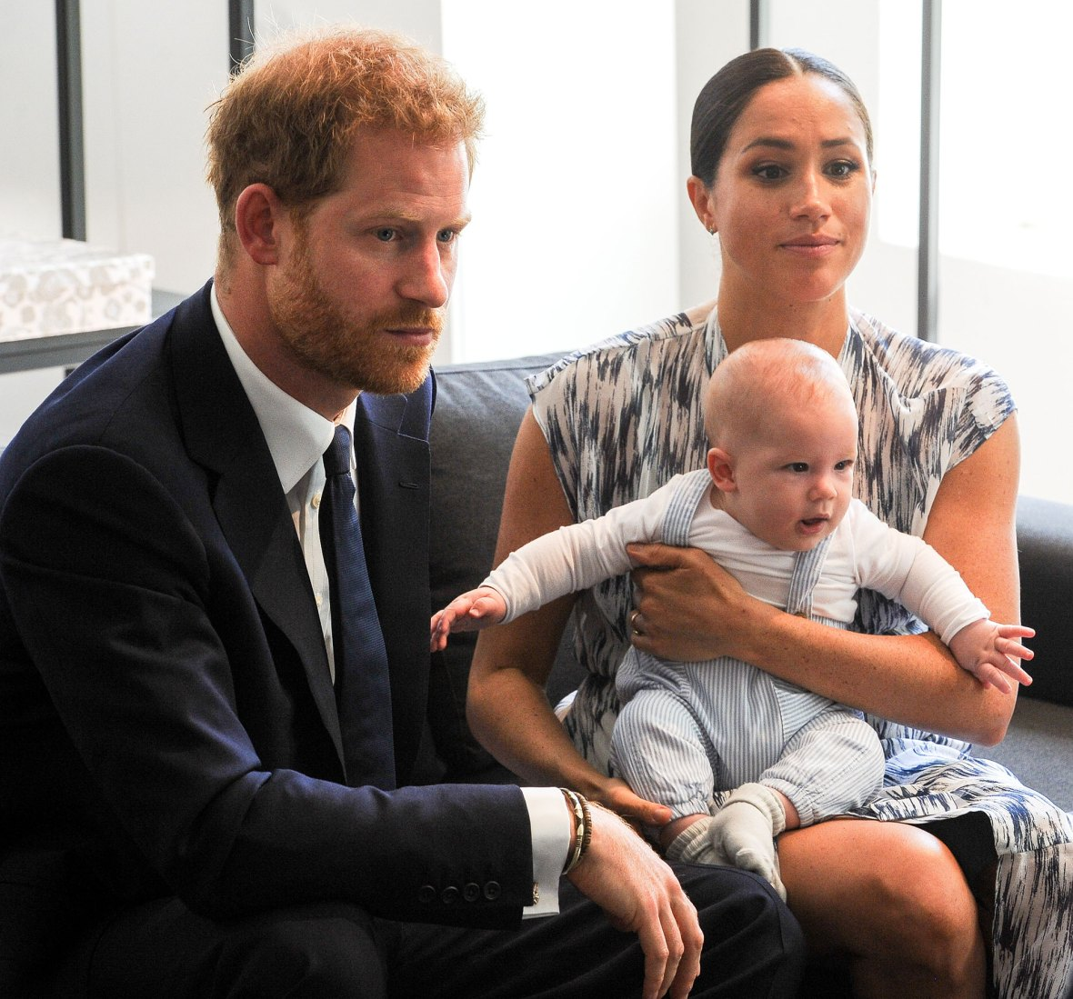 Prince Harry and Meghan Markle and Archie Coronavirus Concerns