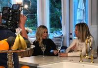 Vicki Gunvalson and Tamra Judge Filming