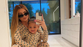 Kylie Jenner and Stormi Look-alike