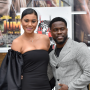 Kevin Hart and Eniko Hart