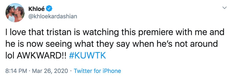Khloe kardashian tweet